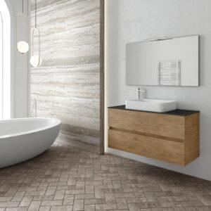 Martinidis Luxus λευκό ξύλινο νιπτήρας