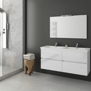 καθρέπτης λευκός Luxus